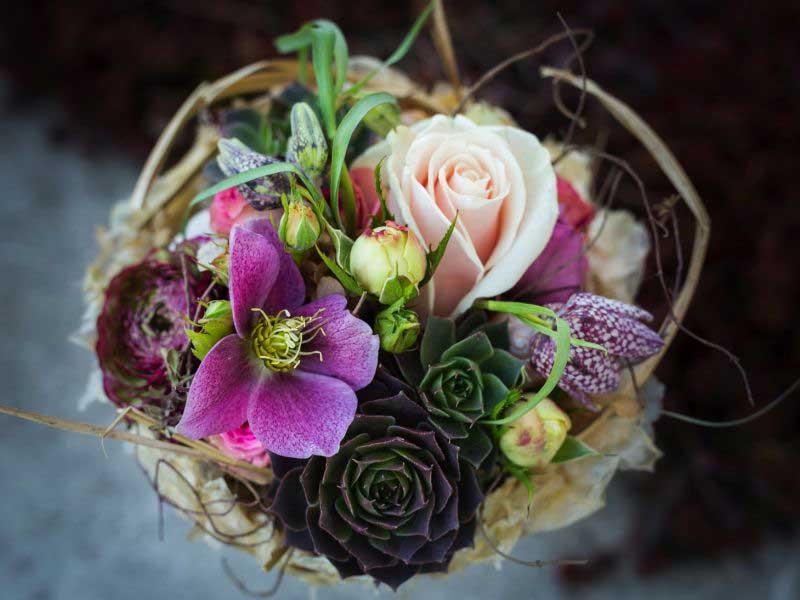 Brautstrauß – Claudia's Blumenzauber