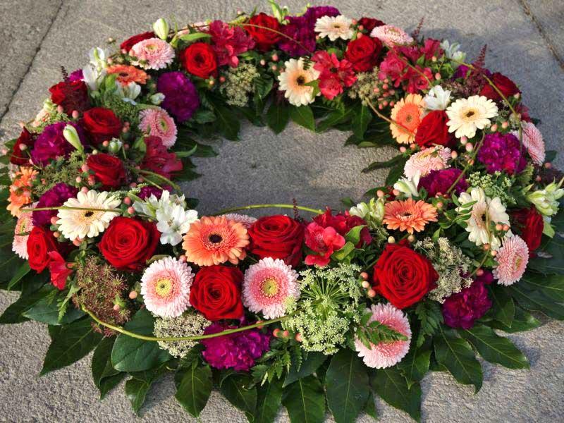Trauerkranz – Claudia's Blumenzauber